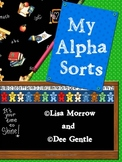 AlphaSorts Complete Alphabet Beginning Sound Sorts