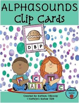 AlphaSounds Clip Cards {Beginning Sounds}