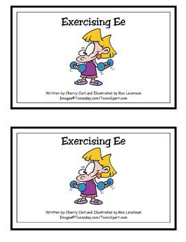 AlphaToons Guided Reader: Exercising E