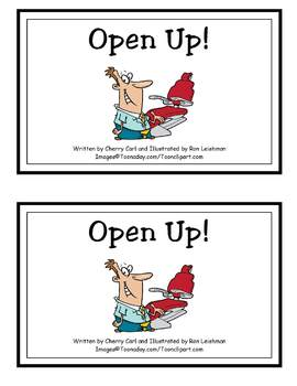 AlphaToons Guided Reader: Open Up!