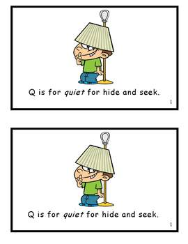 AlphaToons Guided Reader: Q is for Quiet