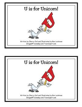 AlphaToons Guided Reader: U is for Unicorn!