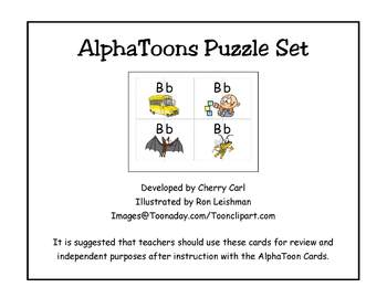 AlphaToons Puzzle Set
