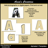 Alphabet 1 Templates