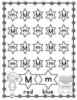 Alphabet! (12 Letter M) Alphabet Recognition/Sound Activities