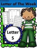 Alphabet! (10 Letter S) Alphabet Recognition/Sound Activities