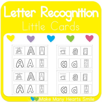 Alphabet Little Cards