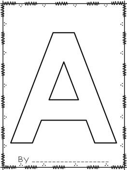 Alphabet Class Book