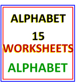 Alphabet 15 Worksheets