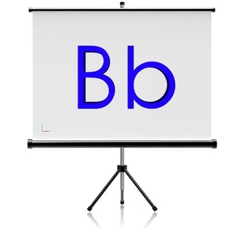 Alphabet 3D Graphics for Whiteboards and Smartboards