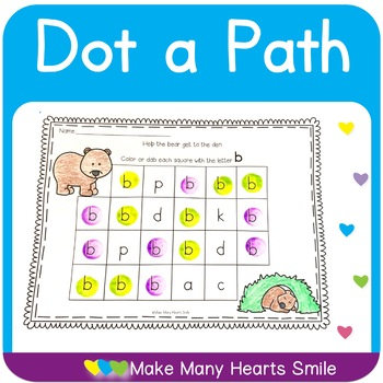 Dot a Path: Letters