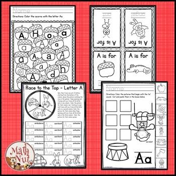 "Alphabet Bundle ""Alphabet Letter of the Week (N to Z) Site Words"