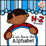 "Alphabet Bundle ""Alphabet Letter of the Week (N to Z) Site Words"