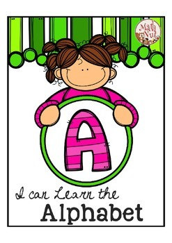 """Alphabet Letter of the Week A """"Site Words"""""""