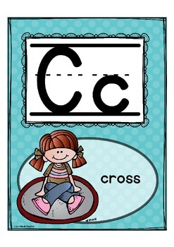Alphabet Letter of the Week C