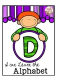"""Alphabet Letter of the Week D """"Site Words"""""""