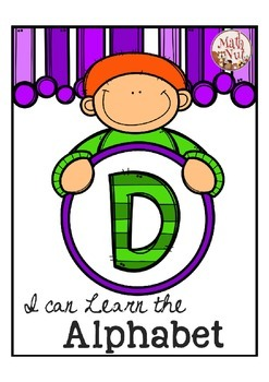 "Alphabet Letter of the Week D ""Site Words"""