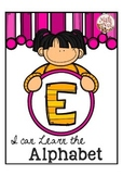 """Alphabet Letter of the Week E """"Site Words"""""""