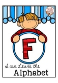 """Alphabet Letter of the Week F """"Site Words"""""""