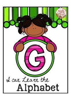 "Alphabet Letter of the Week G ""Site Words"""