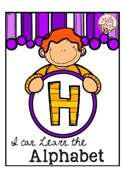 """Alphabet Letter of the Week H """"Site Words"""""""