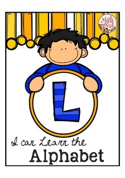 """Alphabet Letter of the Week L """"Site Words"""""""