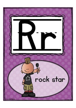 """Alphabet Letter of the Week R """"Site Words"""""""