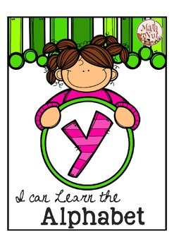"""Alphabet Letter of the Week Y """"Site Words"""""""