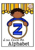 "Alphabet Letter of the Week Z ""Site Words"""