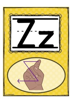 """Alphabet Letter of the Week Z """"Site Words"""""""