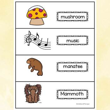 "Alphabet Letter of the Week ""Letter M"" (Alphabet Worksheets)"