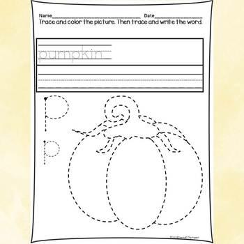 "Alphabet Letter of the Week ""Letter P"" (Alphabet Worksheets)"