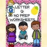 Alphabet Letter of the Week (Letter Q Activities)