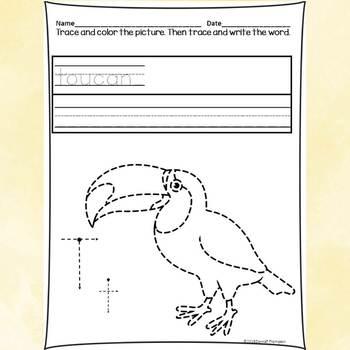 "Alphabet Letter of the Week ""Letter T"" (Alphabet Worksheets)"
