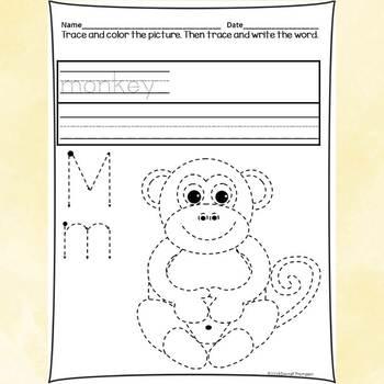 Alphabet Bundle: Alphabet Letter of the Week (Letters A to M)