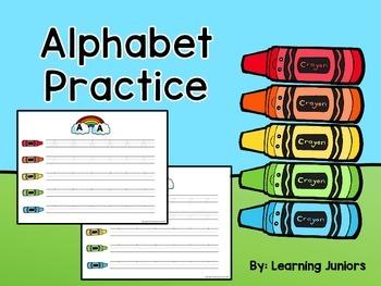 Alphabet Practice Write and Wipe