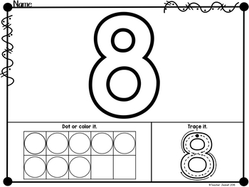 Decorating Letters and Numbers