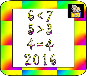 Alphabet - Numbers - Clip Art - Back to school