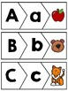 Alphabet 3 part puzzles - Upper and Lower Case