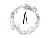 Floral Nature Alphabet