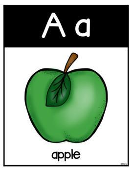 Alphabet Classroom Decor