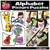 Alphabet 4PC Picture Puzzles
