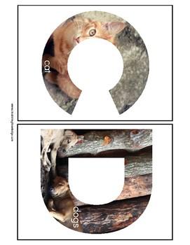 Alphabet A 1/2 Sheets
