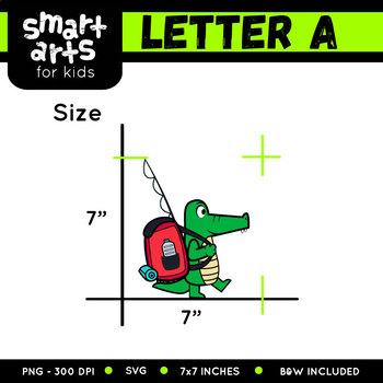 Alphabet A Clip Art