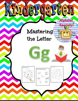 Alphabet Specialty: A Week of the Letter Gg / Activities/ Worksheets Alpha Pack