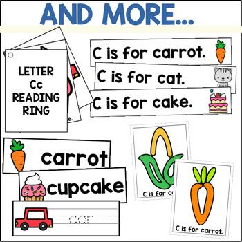 Alphabet A-Z Activity and Center Bundle