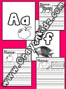 Alphabet A-Z Bundle