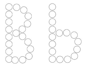 Alphabet A-Z Do A Dot Printables