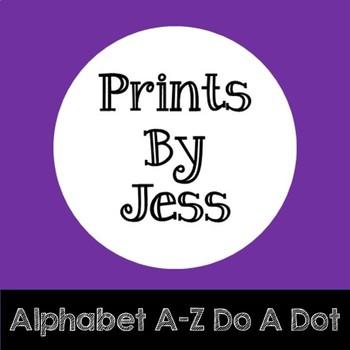 Alphabet A-Z Do A Dot