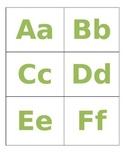 Alphabet A-Z Labels